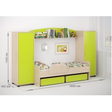 Комплект детской мебели Легенда №20