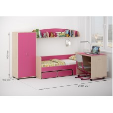 Комплект детской мебели Легенда №26