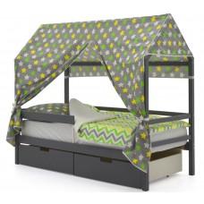 Кровать-Домик «Svogen графит»