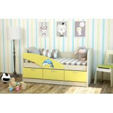 Детская кровать  Дельфин ЛДСП