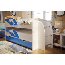 Детская выдвижная кровать Омега-19