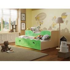 Детская выдвижная кровать Омега-11