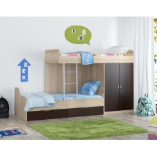 Двухъярусная кровать Дельта-18.04_01