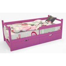 Кровать-тахта «SCANDI» Розовая