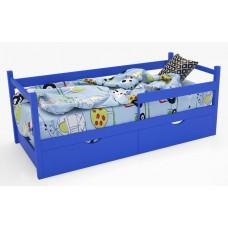 Кровать-тахта «SCANDI» Синяя