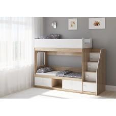 Двухъярусная кровать Легенда D605.3