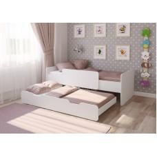 Выдвижная кровать Легенда 14.2 белая