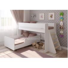 Выдвижная кровать  Легенда 23.3 белая