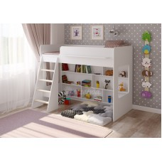 Детская кровать  Легенда 26.1 белая