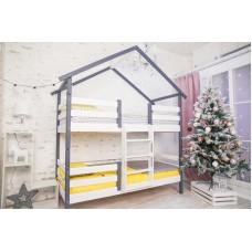 Кровать Сонечка с крышей