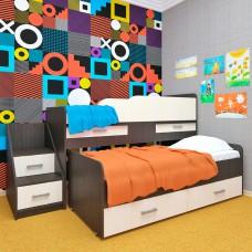 Двухъярусная кровать Лёсики
