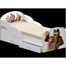 Кровать Максимка с фотопечатью