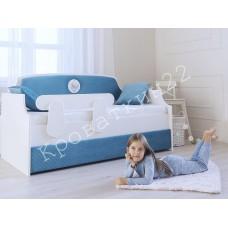 Кровать-тахта – Медальон Синий