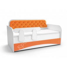 Кровать-тахта Апельсин   -  Мягкий Фасад