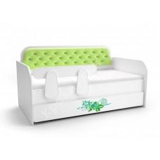 Кровать-тахта Лайм - Зеленый цветок
