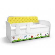 Кровать-тахта Лимон - Цветочные сны