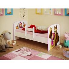 Кровать детская Маша и Медведь