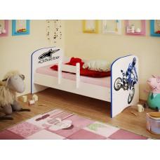 Кровать детская Мотокросс