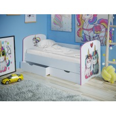 Кровать детская Единорожки